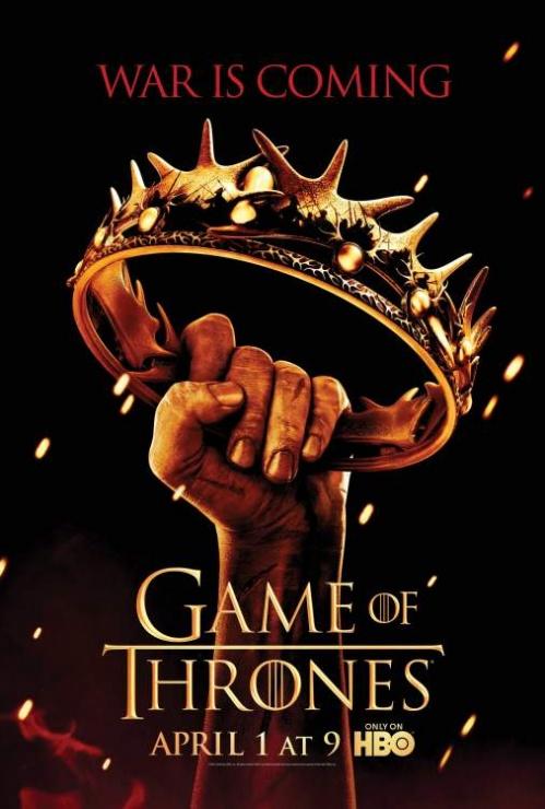 poster de la segunda temporada de juego de tronos