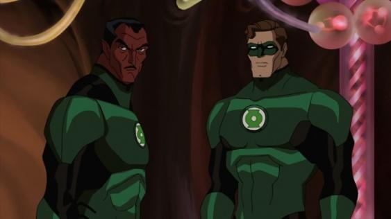 Sinestro y Hal Jordan