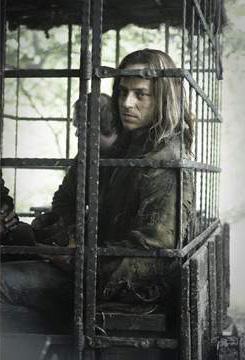 Jaqen H'ghar en la segunda temporada de Juego de Tronos