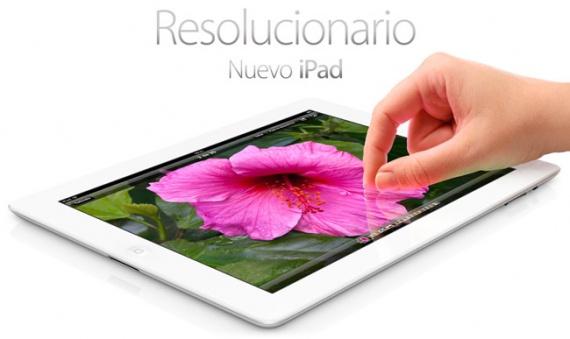 presentado nuevo ipad