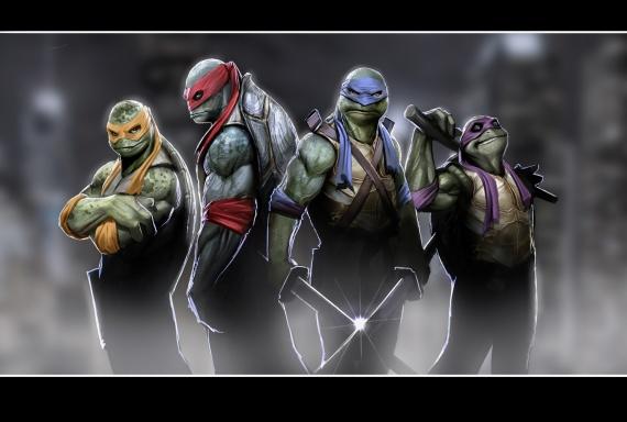 la nueva pelicula de las tortugas ninja será en 2013