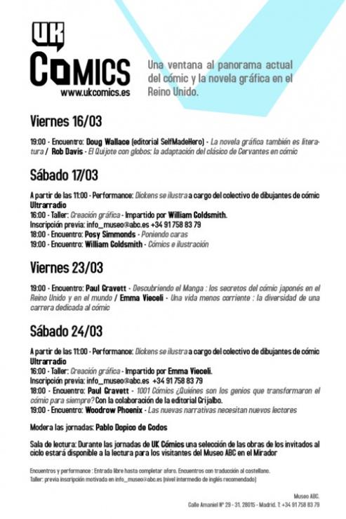 ukcomics programa 2012