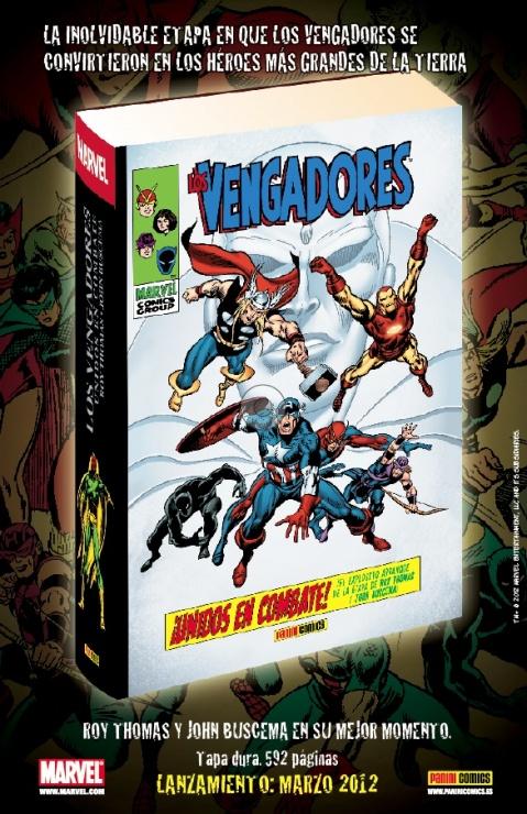 vengadores gold edition