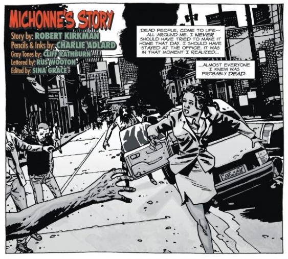 Origen de Michonne