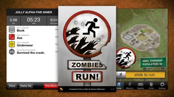 zombies run game iphone android