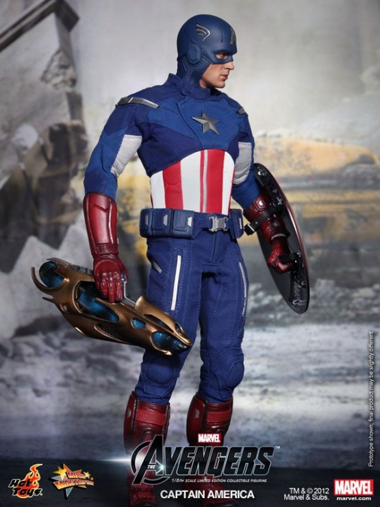 capitan america hot toys vengadores 2