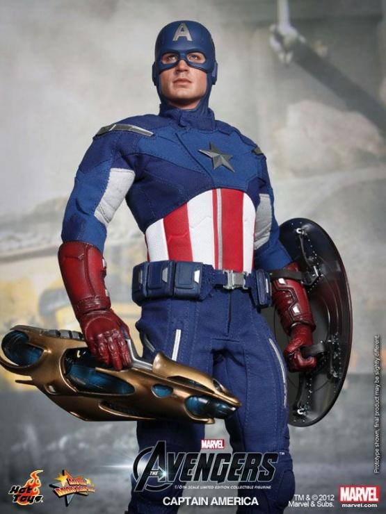 capitan america hot toys vengadores