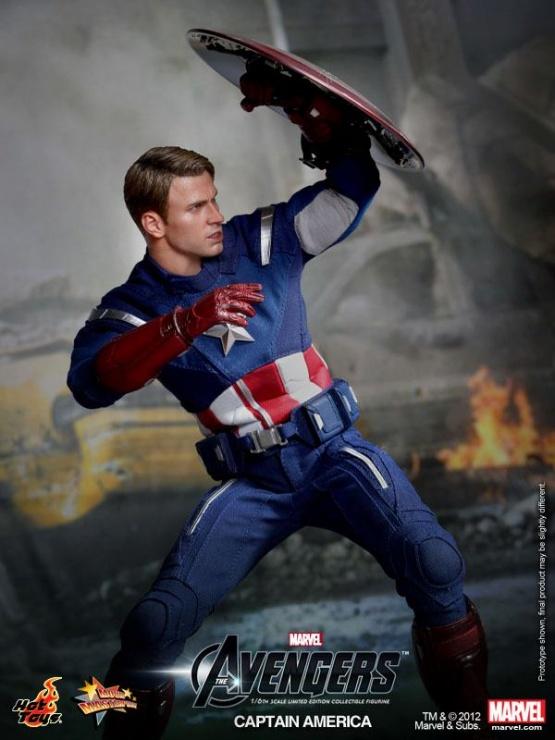 capitan america vengadores chris evans hot toys 2