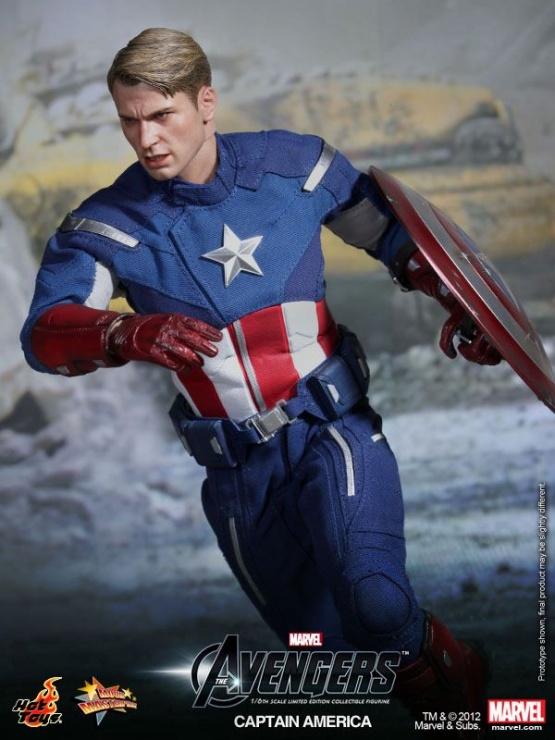 capitan america vengadores chris evans hot toys