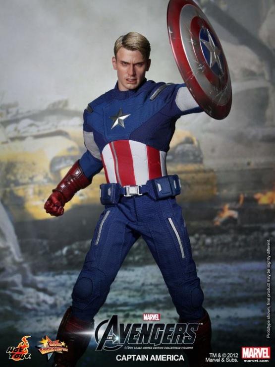 capitan america vengadores hot toys chris evans 2