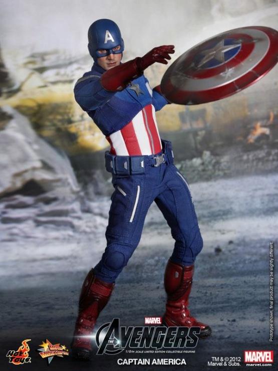 capitan america vengadores hot toys
