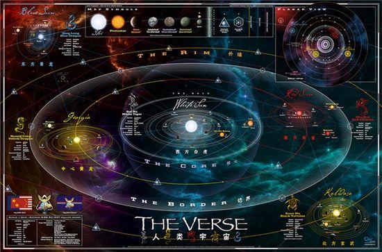 cartografia battlestar galactica