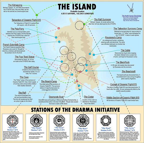 cartografia isla lost
