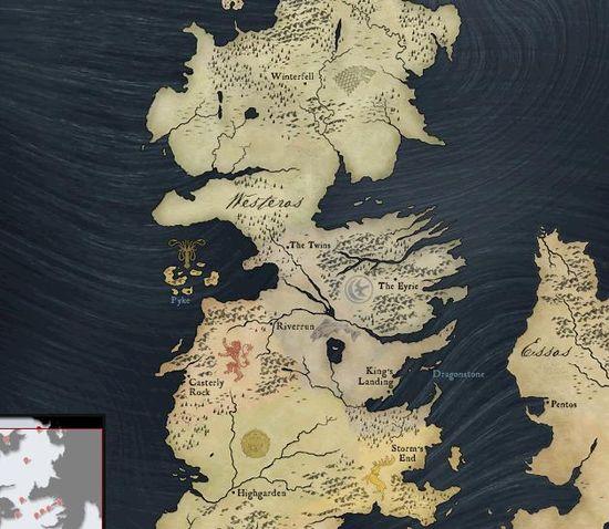 cartografia juego de tronos