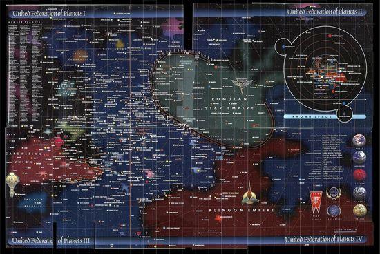 cartografia star trek