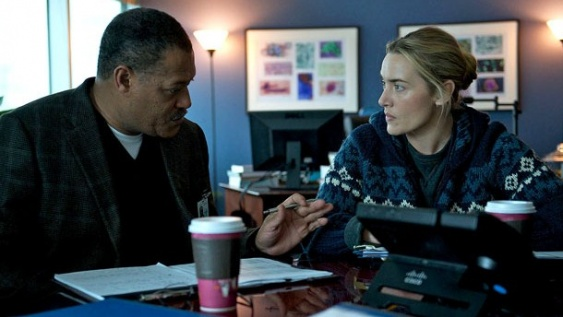 Laurence Fishburne y Kate Winslet