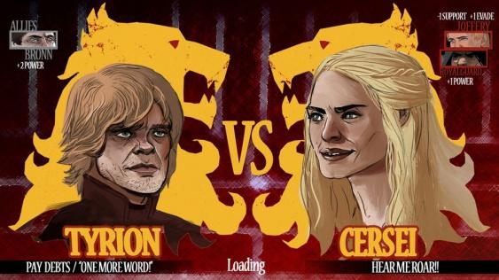 juego de tronos cersei vs tyrion carga