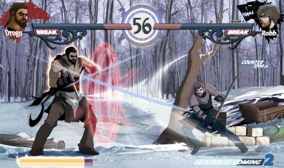 juego de tronos khal drogo vs robb
