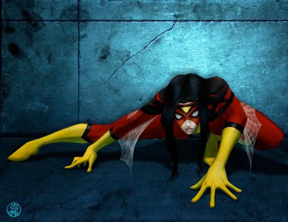 lynne yoshii spider woman