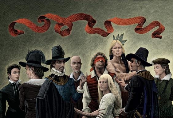 marvel 1602 cover portada