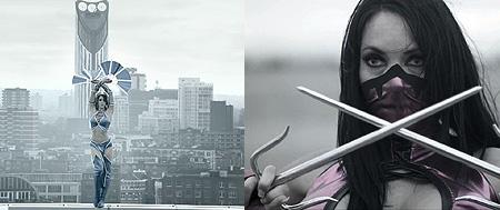 Mileena y Kitana