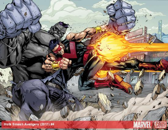 mr. fixit jim mccann agustin padilla comic smash avengers