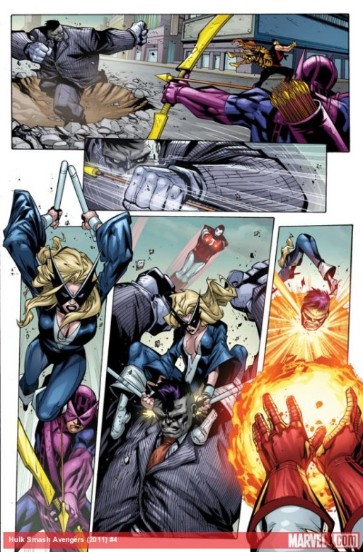 mr. fixit jim mccann agustin padilla smash avengers comic