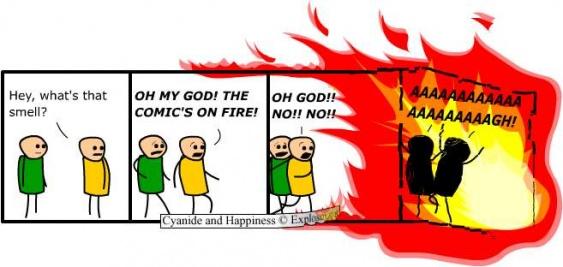 Planeta deAgostini comics quemados