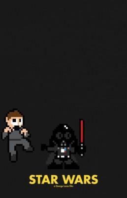 star wars 8 bits