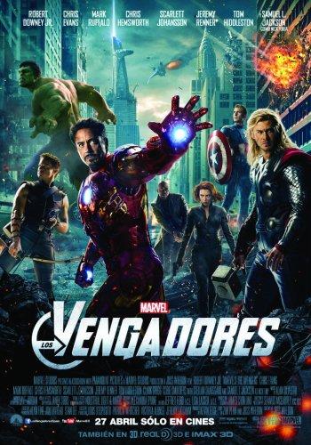 Poster Definitivo de Los Vengadores