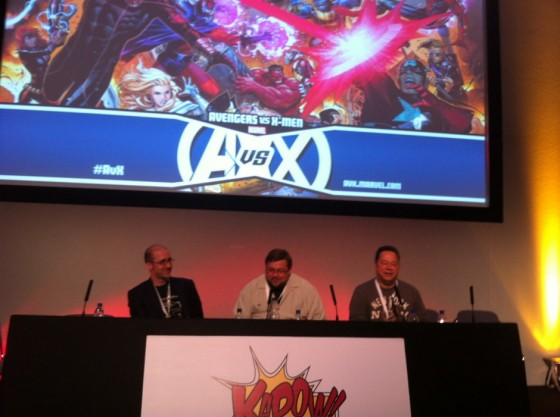 Joe Quesada, Kieron Guillen y CG Cebulski