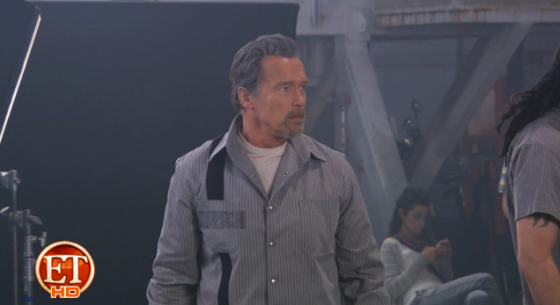Arnold Schwarzenegger en The Tomb