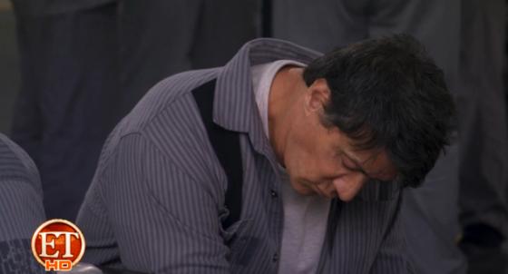 Sylvester Stallone en The Tomb