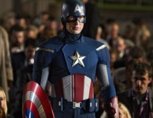 Capitan America en 'los Vengadores'