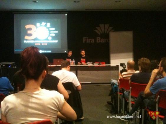 Conferencia Planeta DeAgostini Ficomic 2012