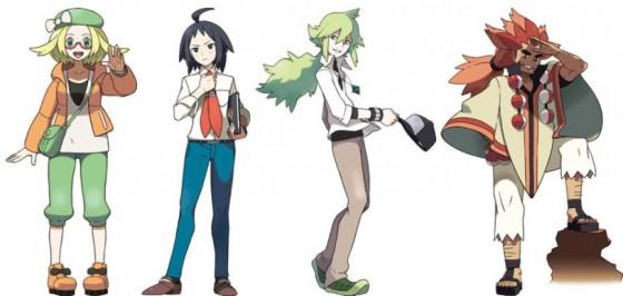 Entrenadores 2 pokemon negro blanco 2