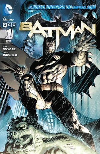 Portada del primer número de Batman del nuevo Universo DC