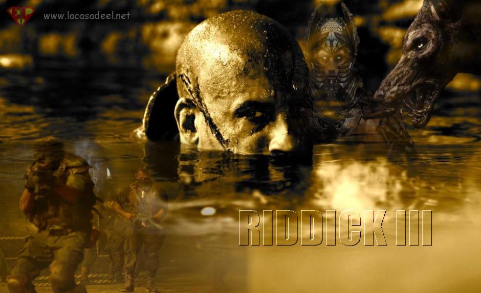 Riddick 3 pelicula Vin Diesel