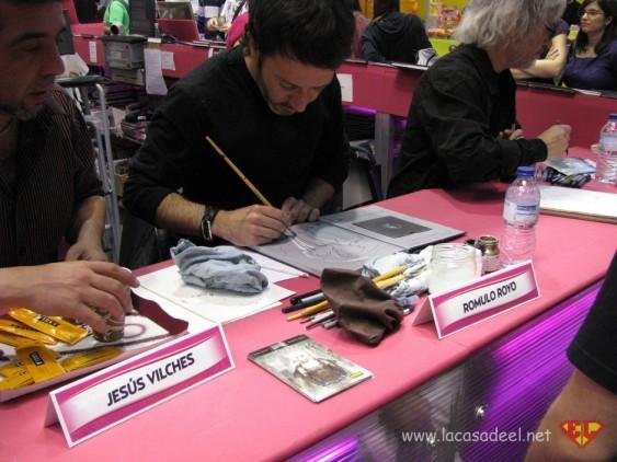 Romulo-Royo-Jesus Vilches Ficomic-2012 lacasadeel