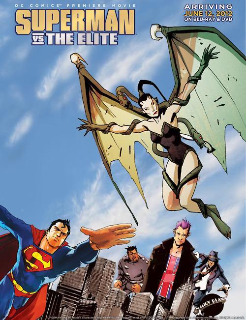 Póster Superman Vs The Elite