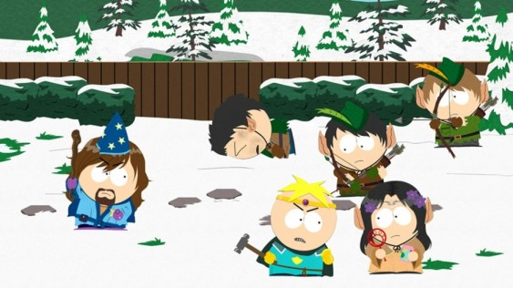 South Park Stick of Truth battle