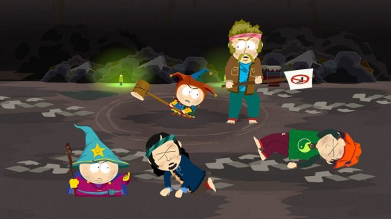 South Park Stick of Truth hippies