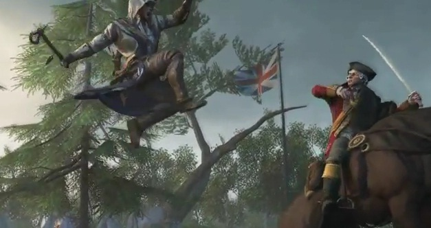 assassin creed 3 connor trailer