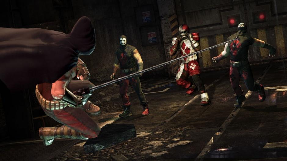 batman arkham city harley quinn pelea