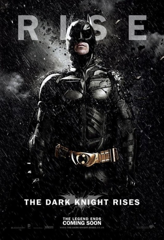 batman caballero oscuro la leyenda renace poster 2