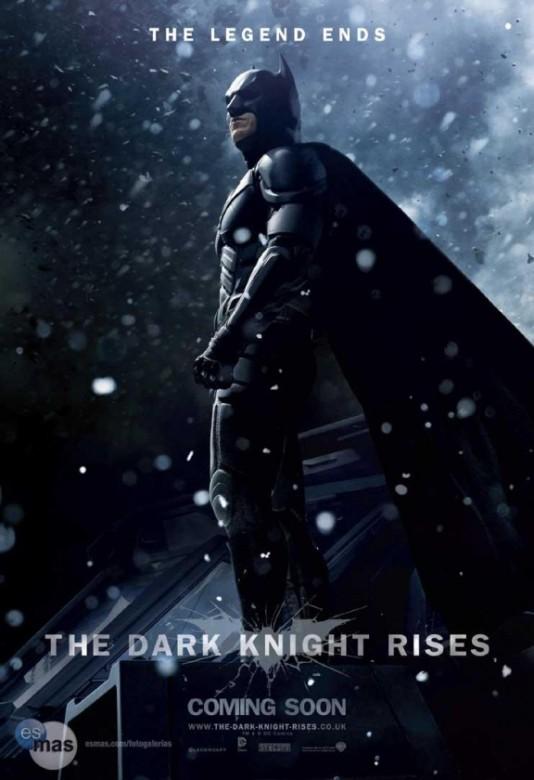 batman caballero oscuro la leyenda renace poster