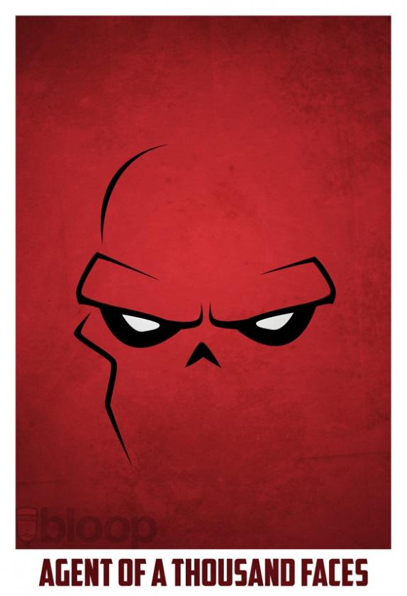 craneo rojo