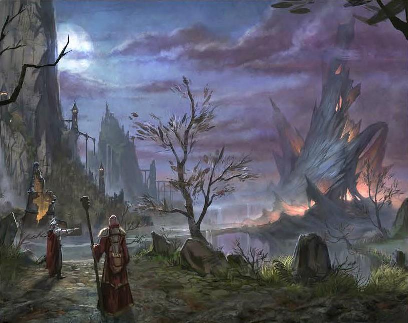 elder scrolls online paisaje