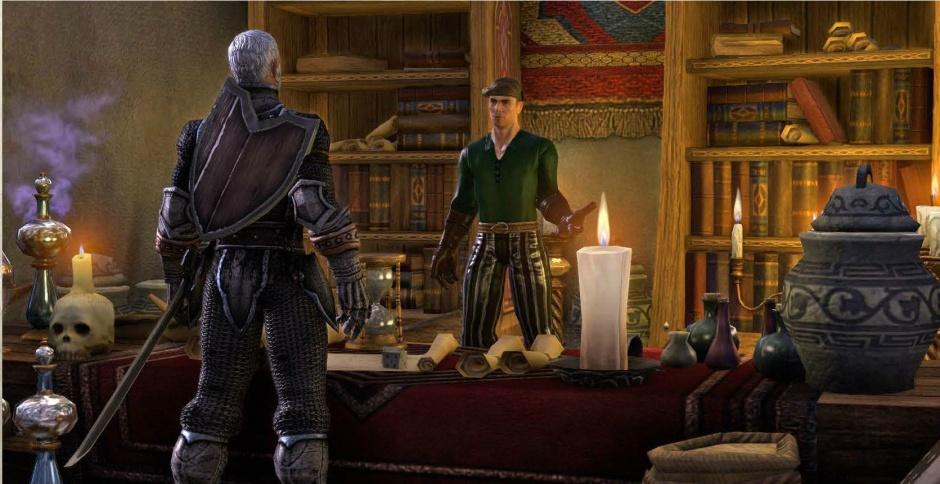 elder scrolls online personaje hablando