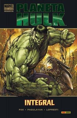 Tomo de Planeta Hulk de Marvel Deluxe